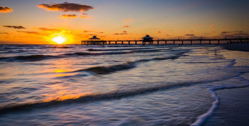 Puis faites une escale à Fort Myers Beach