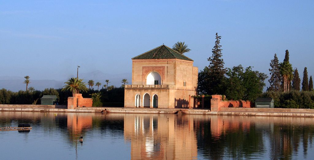 Une balade en calèche dans les Jardins de Marrakech