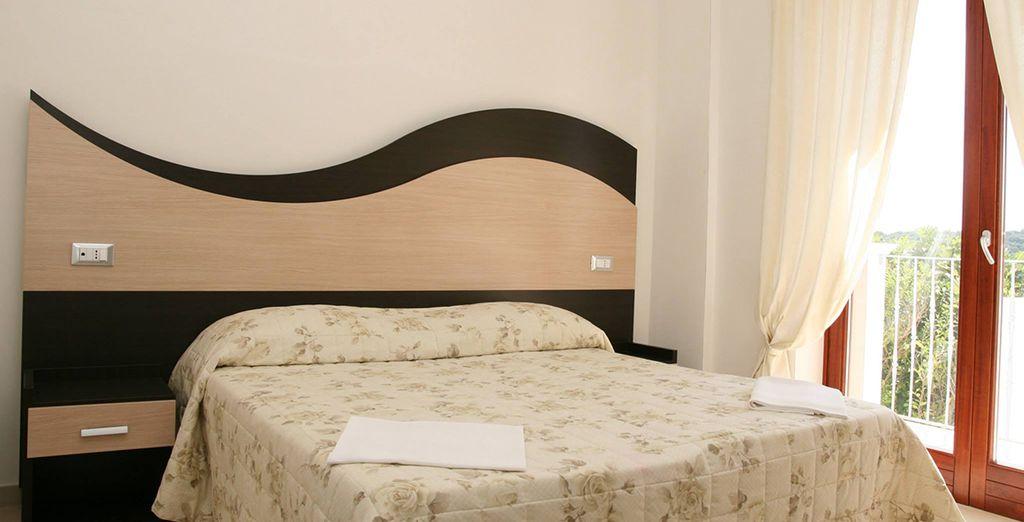 Installez-vous en chambre Confort