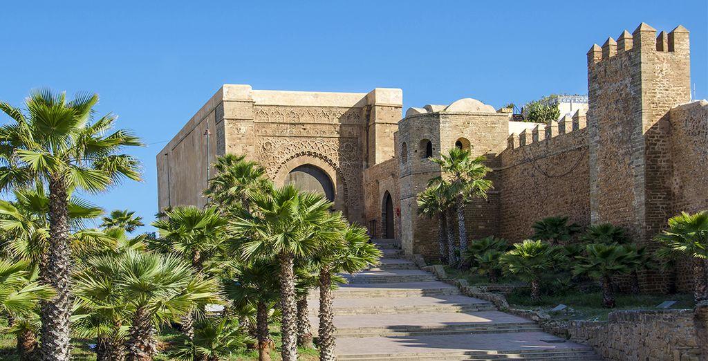 Vous ferez étape à Rabat, la capitale
