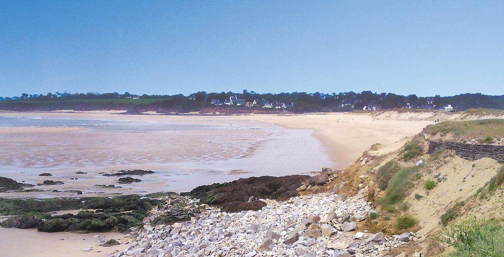 Sur les côtes bretonnes
