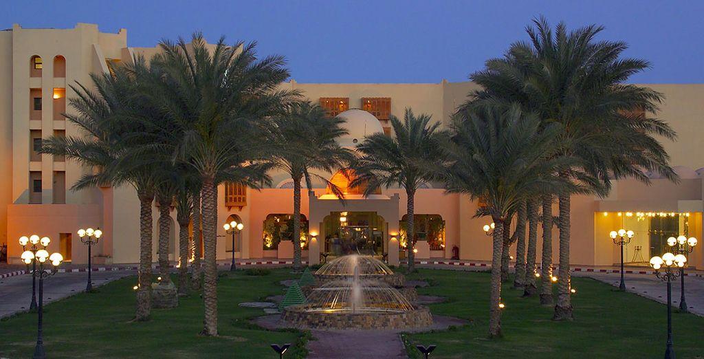 Installez-vous au Continental Resort 5*