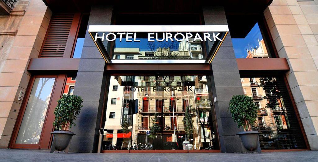 Poussez les portes de l'Europark