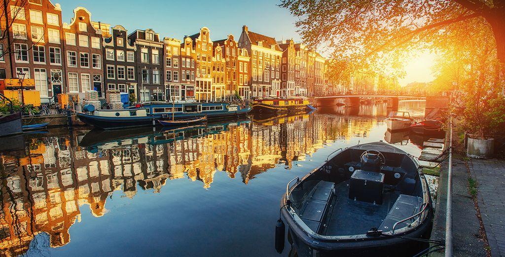 Découvrez Amsterdam, la Venise du Nord