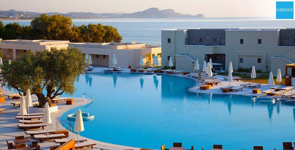 Lâchez prise et laissez filer le temps... - Hôtel Sentido Port Royal Villas & Spa 5* Rhodes