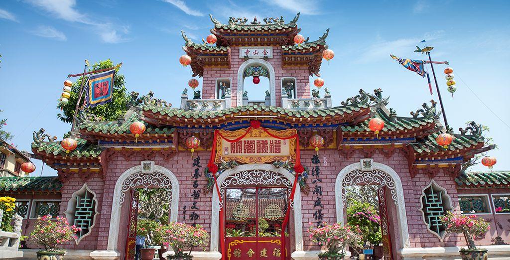Des pagodes ancestrales...