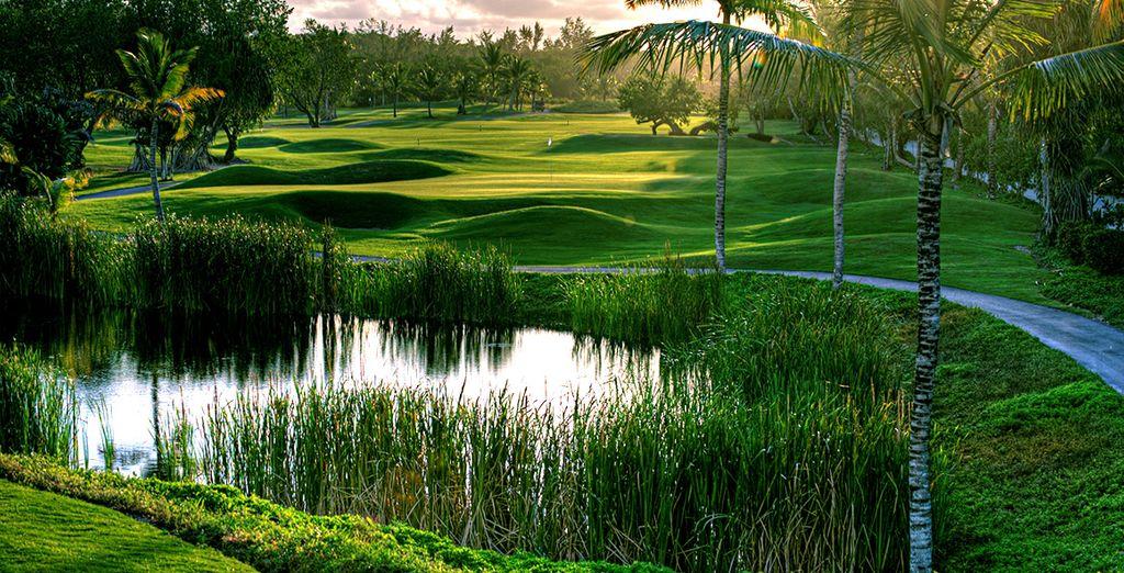 Entouré d'un superbe golf pour un séjour d'exception