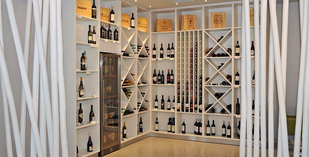 Et vous délecter de délicieux vins