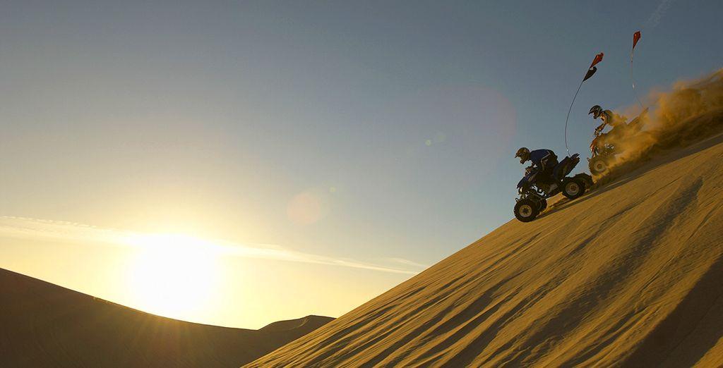 Vivez des instants de pure aventure en quad...