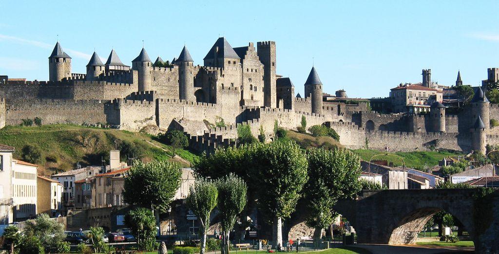 Bon séjour à Carcassonne !