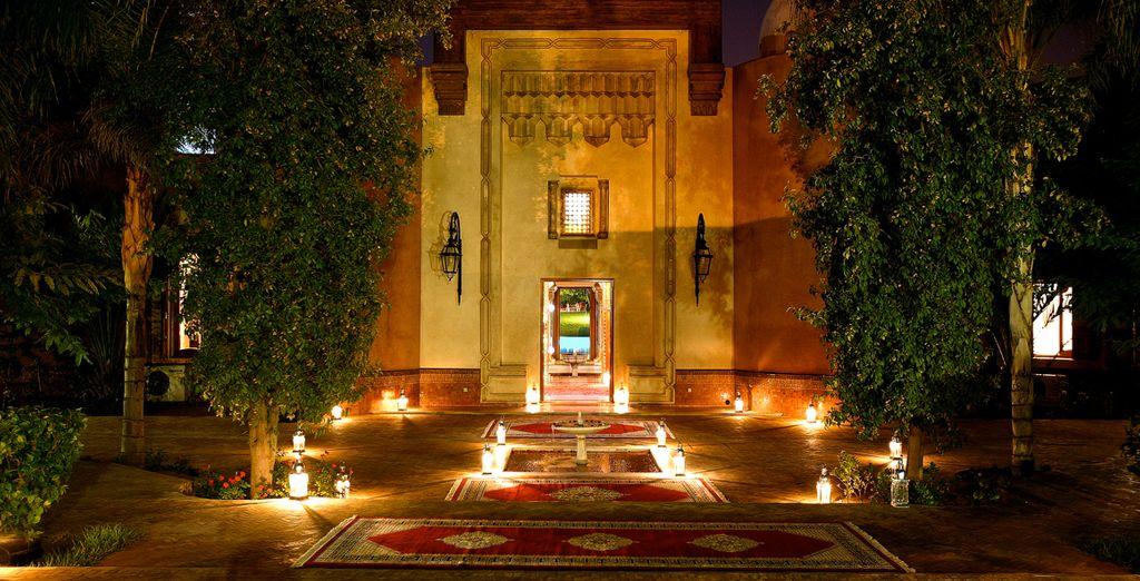 il vous donne rendez-vous au Palais Mehdi 5*