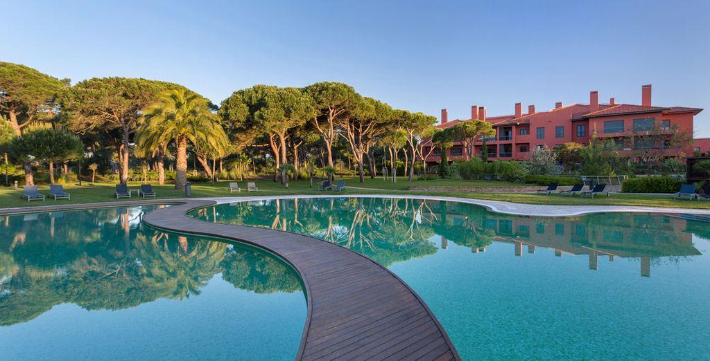 Une piscine au design élégant... - Hôtel Sheraton Cascais Resort 5* Cascais