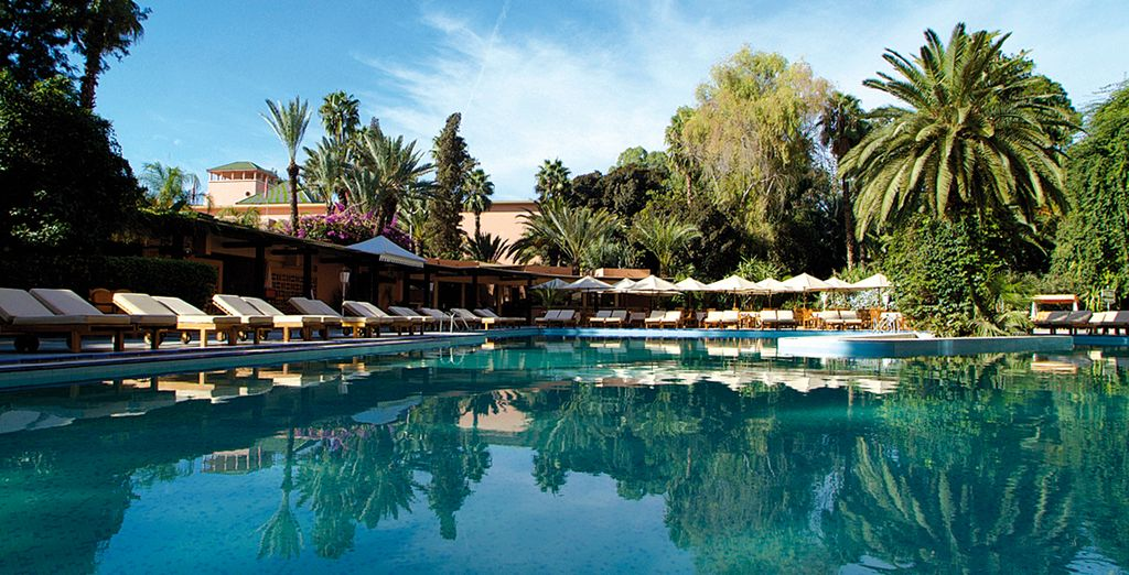 Bienvenue au Es Saadi Gardens & Resort Hotel 5*