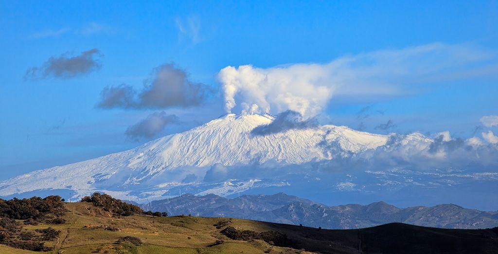 Ou une marche sportive sur les flancs de l'Etna...