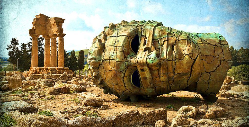 Terminez votre découverte de la Sicile à Agrigente...