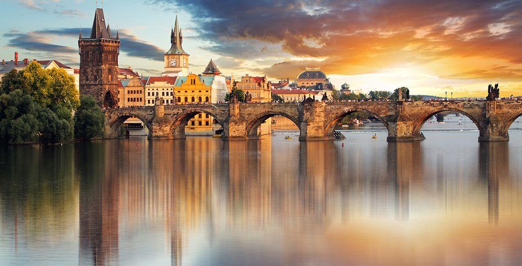 Et bien sur, sa jolie rivière, la Vltava !