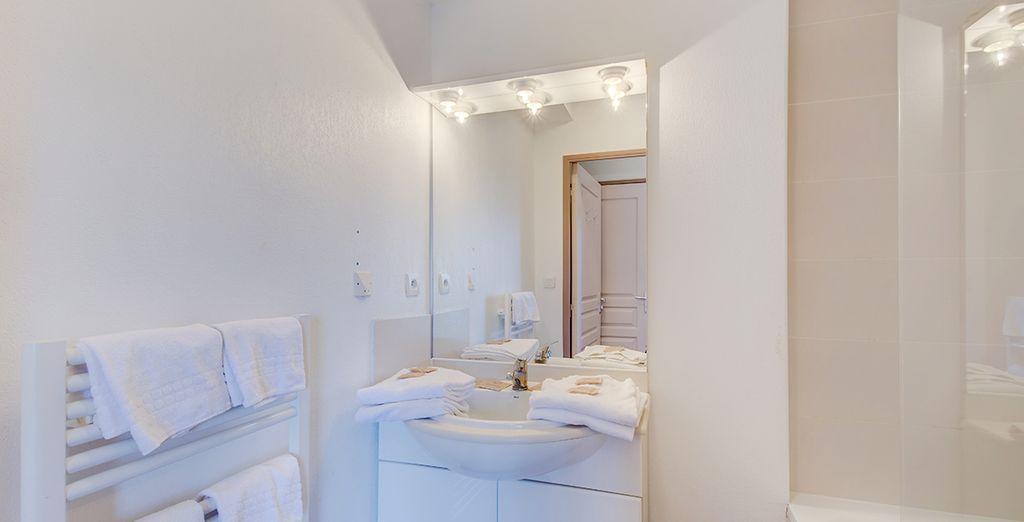 Sa jolie salle de bains