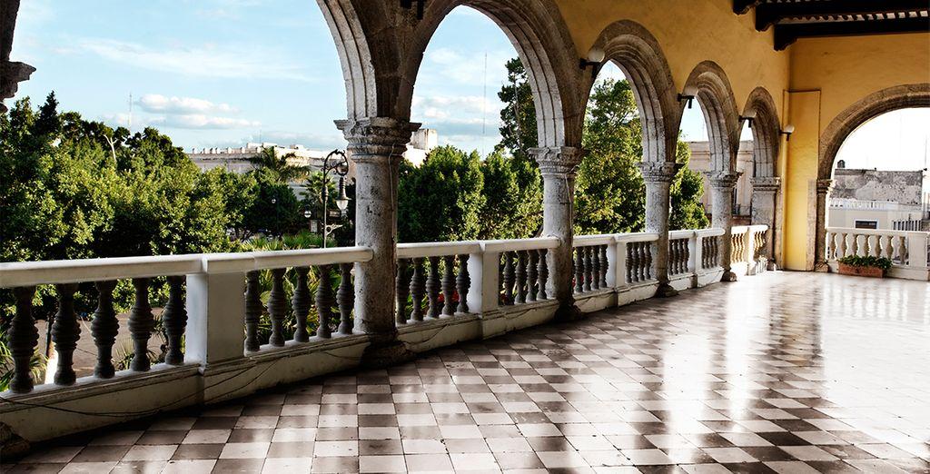 Passez par la charmante ville coloniale de Mérida