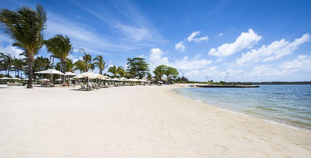 Flânez sur les plages paradisiaques
