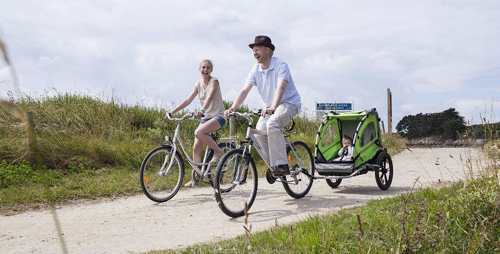 Lancez-vous dans une balade à vélo