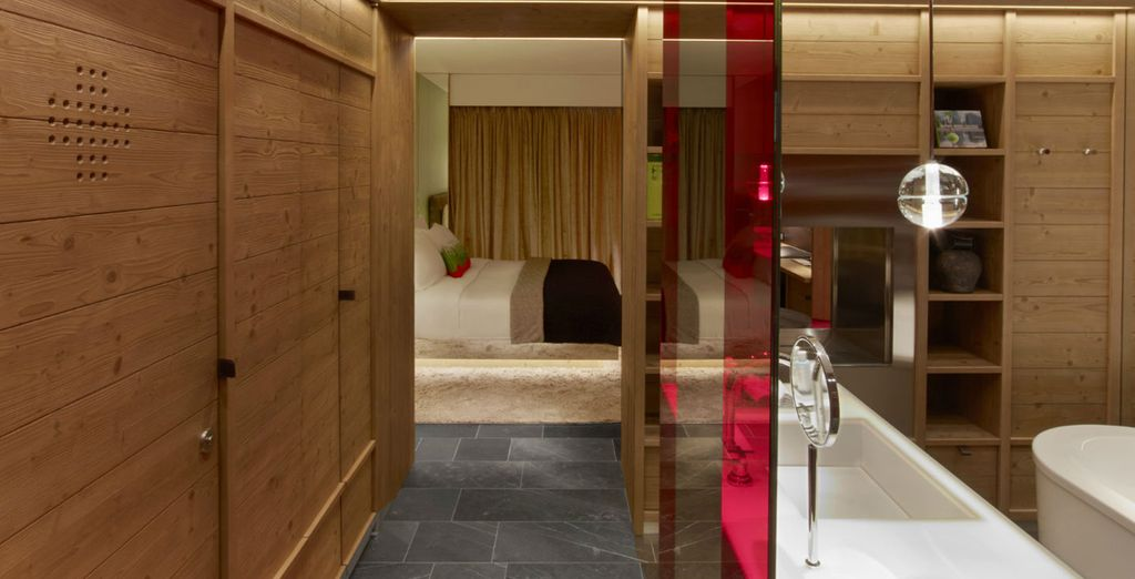 Installez-vous confortablement dans votre chambre Wonderful...