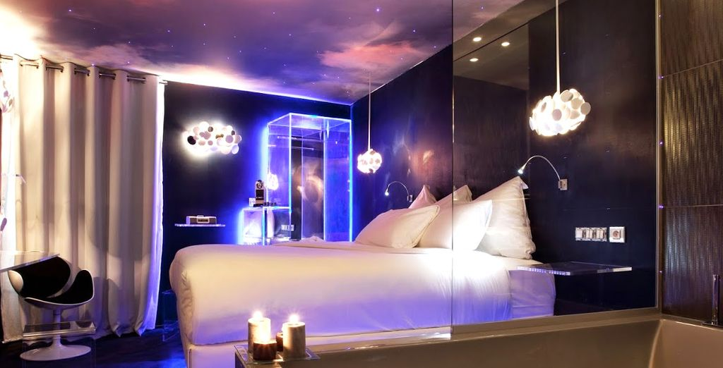 Entrez dans un monde de charme et de design unique - Hôtel Seven 4* Paris