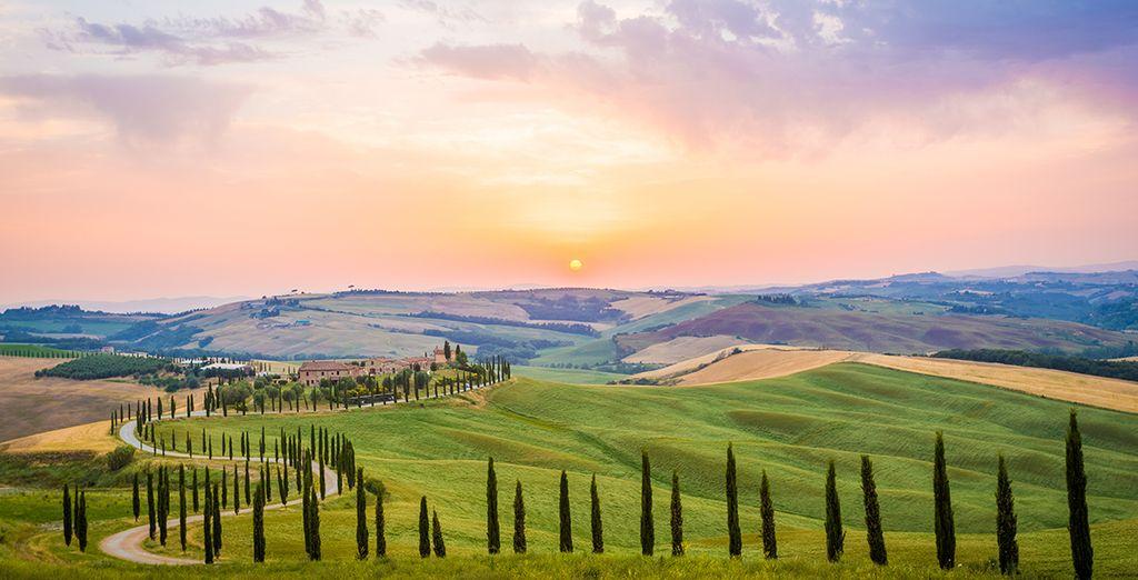 Plongez dans un tableau de maître... Bienvenue en Toscane ! - Hôtel Villa Bianca 4* Gambassi Terme