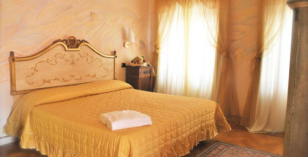 Entrez dans votre chambre au style unique...
