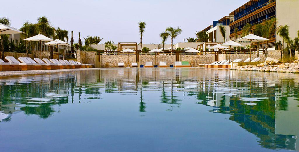 La piscine vous détendra