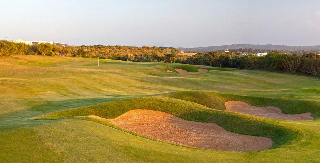 Le terrain de golf ravira les amateurs