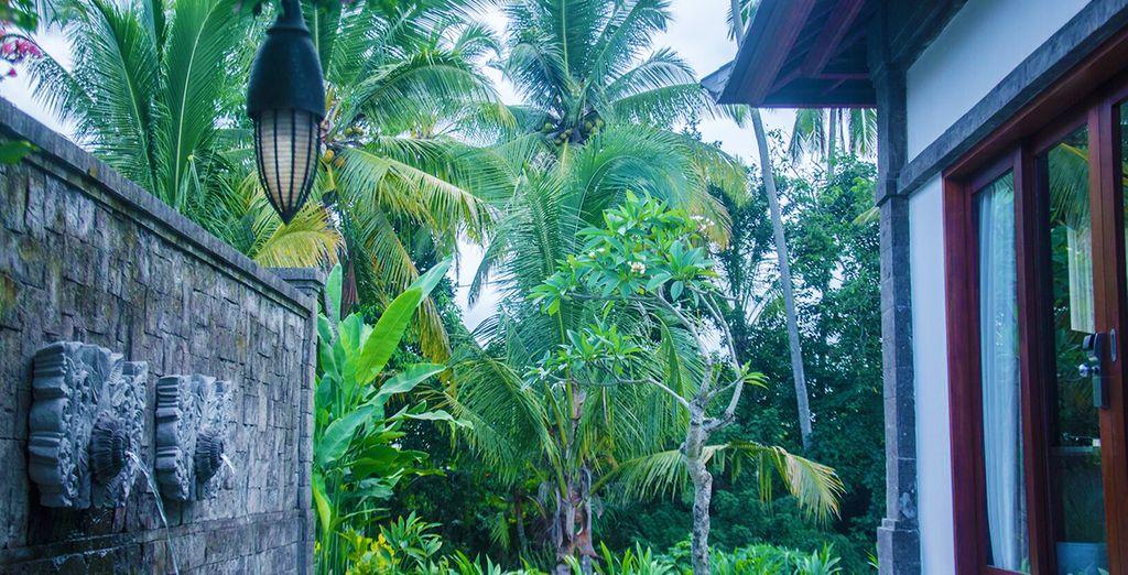 Installez-vous à Bali dans un véritable écrin tropical de la région d'Ubud