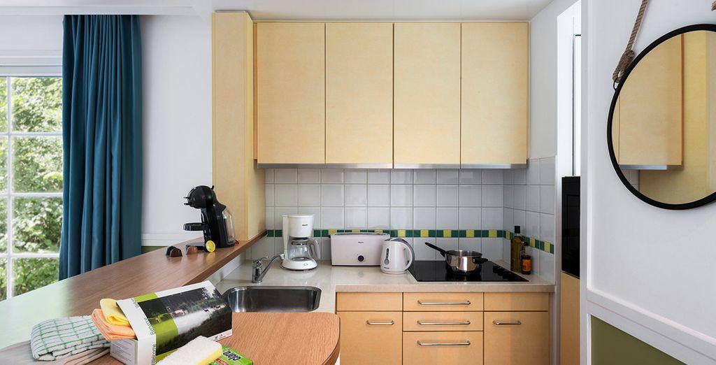 Parfaitement équipé avec un coin cuisine... il s'adaptera à toute vos envies