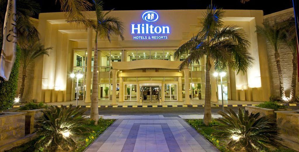 L'hôtel Hilton Resort Hurghada 5* vous accueille