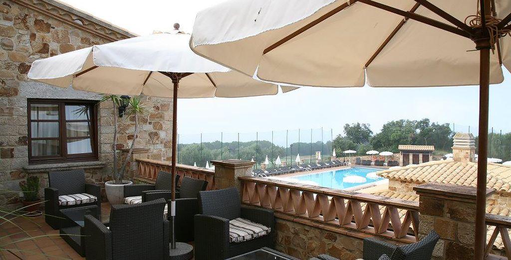 Vous apprécierez très certainement la vue panoramique du restaurant