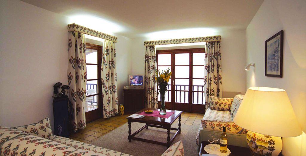 Installez-vous dans un appartement confortable