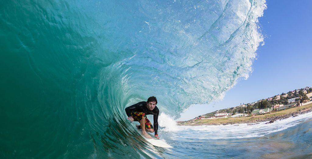 Ou le surf, pour plus de sensations fortes !