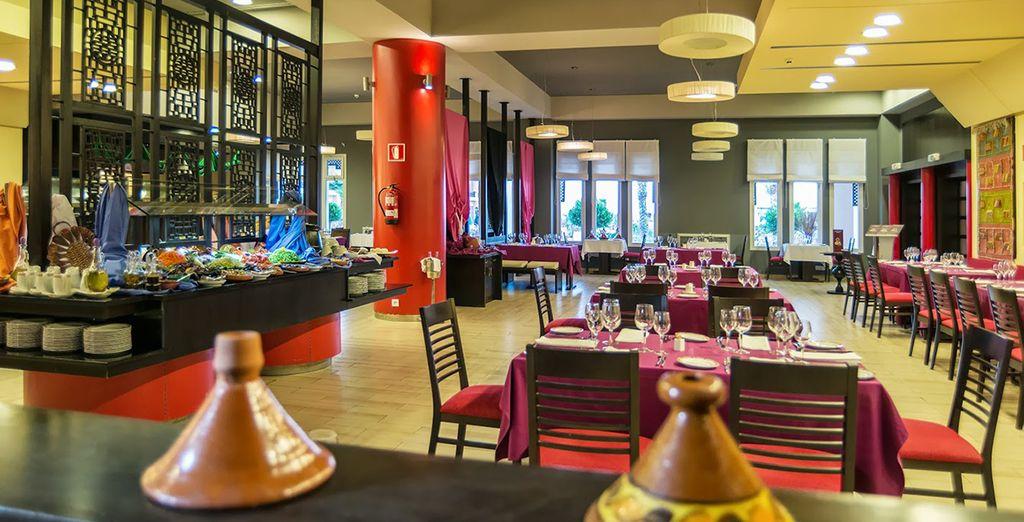 Les délices de la cuisine marocaine s'offriront à vous...