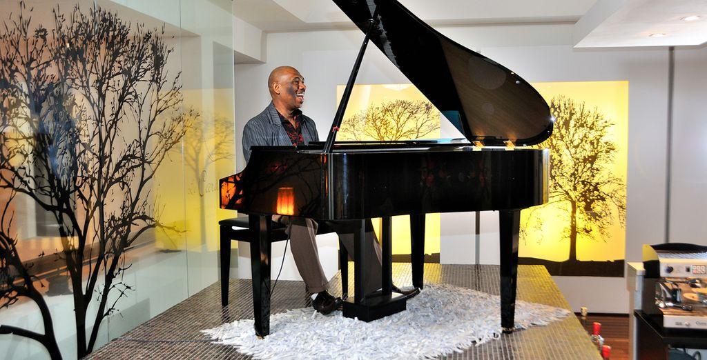 Tout en écoutant le doux son du piano...