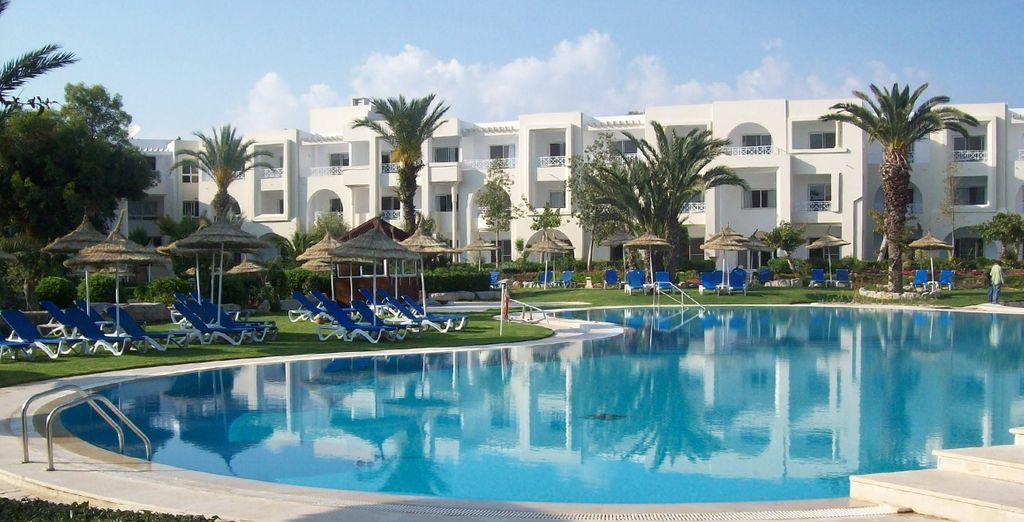 Un endroit propice au repos - Hôtel Club Magic Life Africana 5* Hammamet