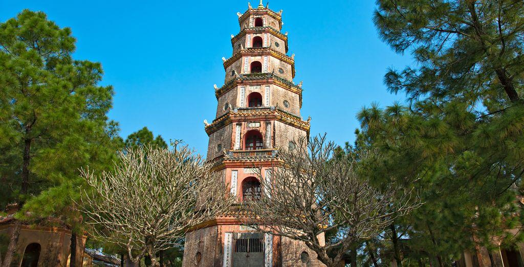 Visitez la ville de Hué