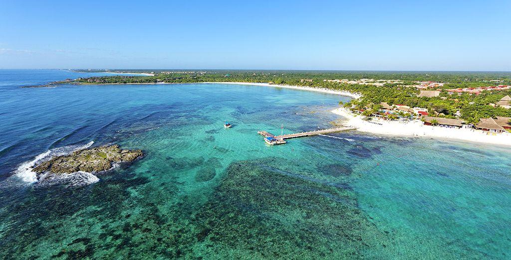 Au bord de la mer des Caraïbes