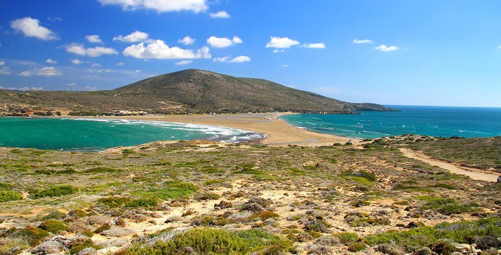 Puis découvrez la sublime île de Rhodes