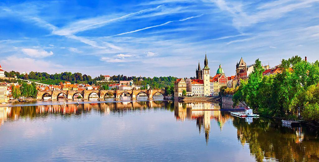 Rejoignez Prague et son quartier historique