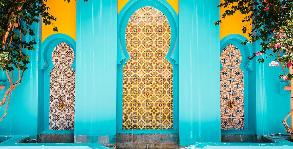 Admirer son architecture orientale