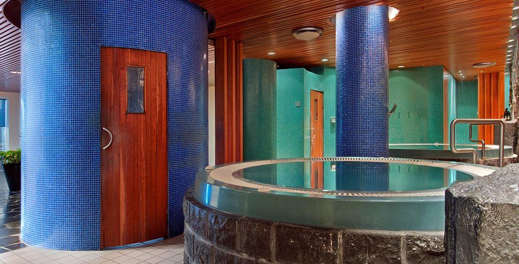 L'hôtel comporte également un Spa pour vous détendre après ces nombreuses visites