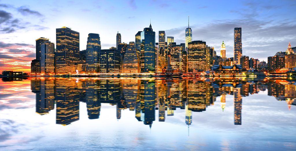 Et tombez sous le charme unique de la ville de New York...
