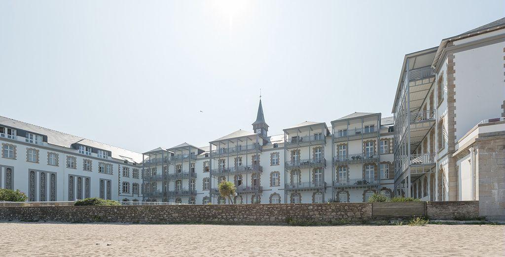 A proximité de la plage