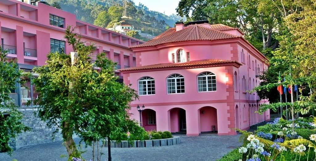 Direction Madère au Quinta da Serra !