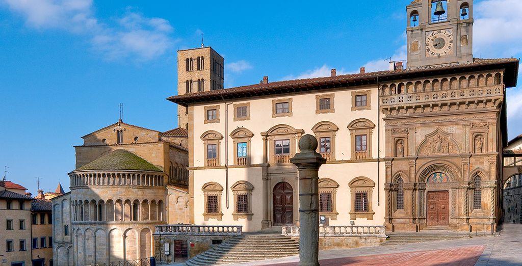 En passant par Arezzo et son patrimoine à couper le souffle
