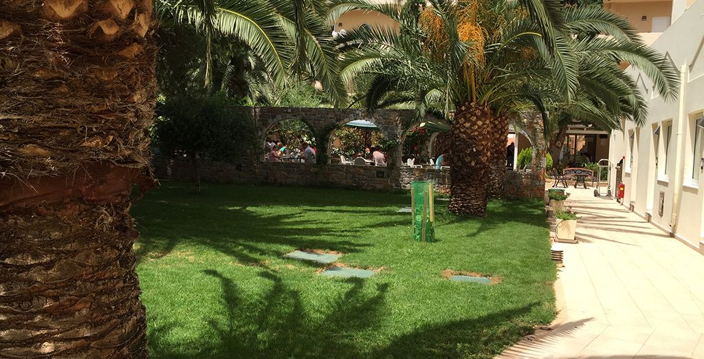Explorez ses jardins